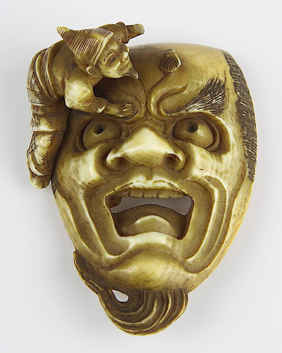1-0009 - Japanisches Elfeinbein-Netsuke, Image