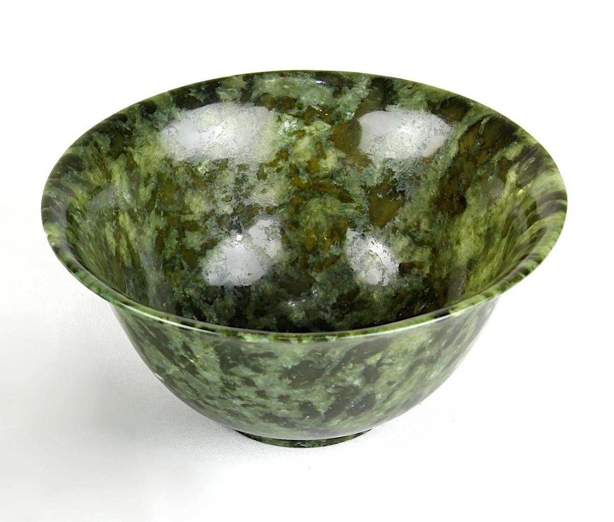 1-0037 - Chinesisches Jade-Koppchen, 1. H. 20. Jh. Image
