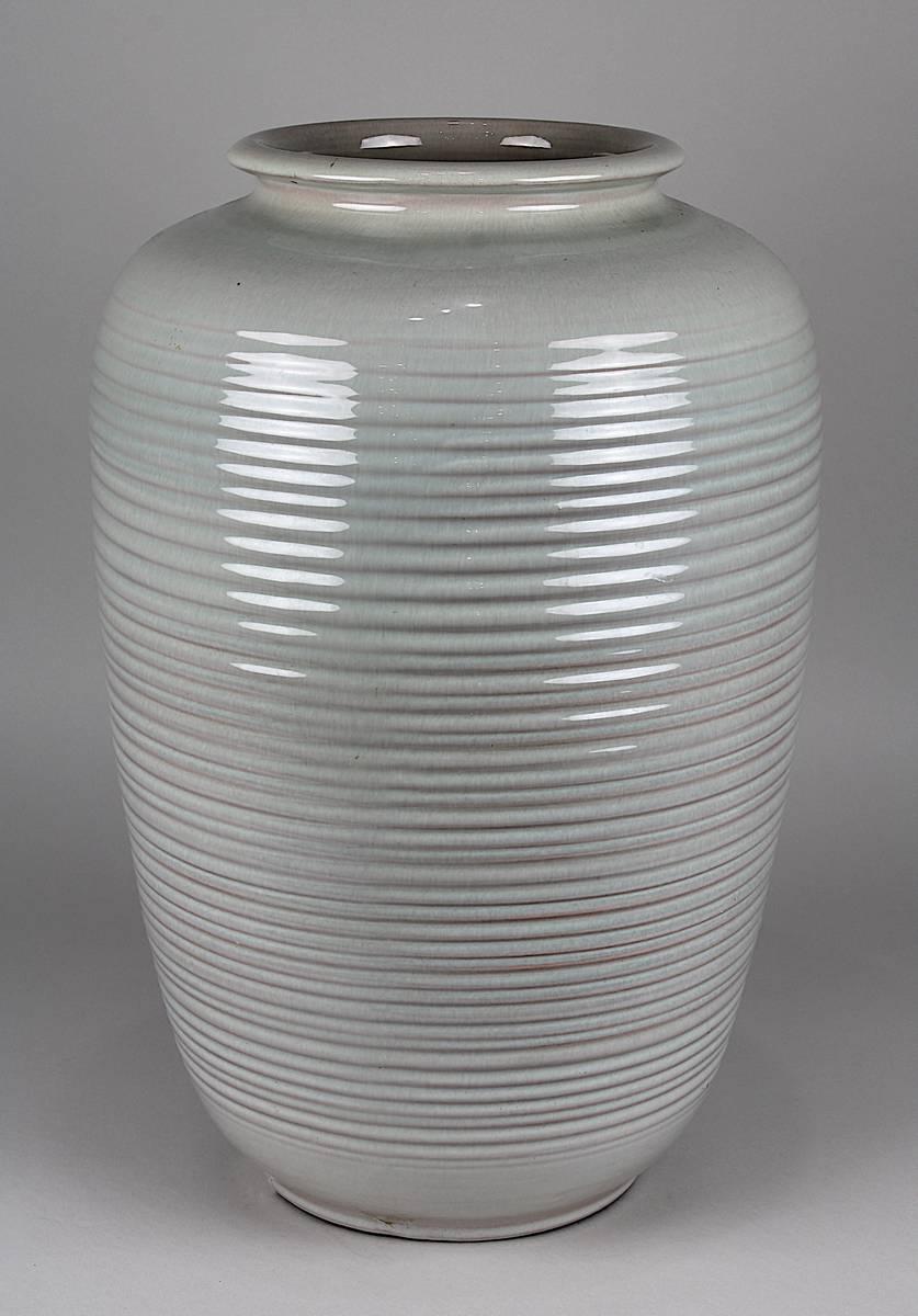 11-0027 - Karlsruher Majolika, Bodenvase, Entwurf Martha Katzer Image