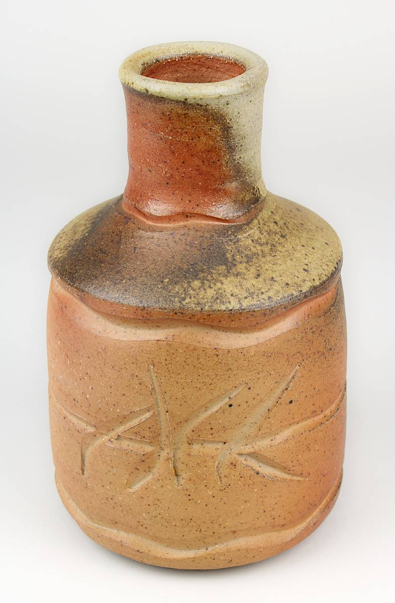 11-0044 - Kerstan, Horst (geb. Frankfurt a. M. 1941 - 2005 Kandern), Studiokeramik Art Pottery - Steinzeug mit brauner Salzglasur, 1982 Image
