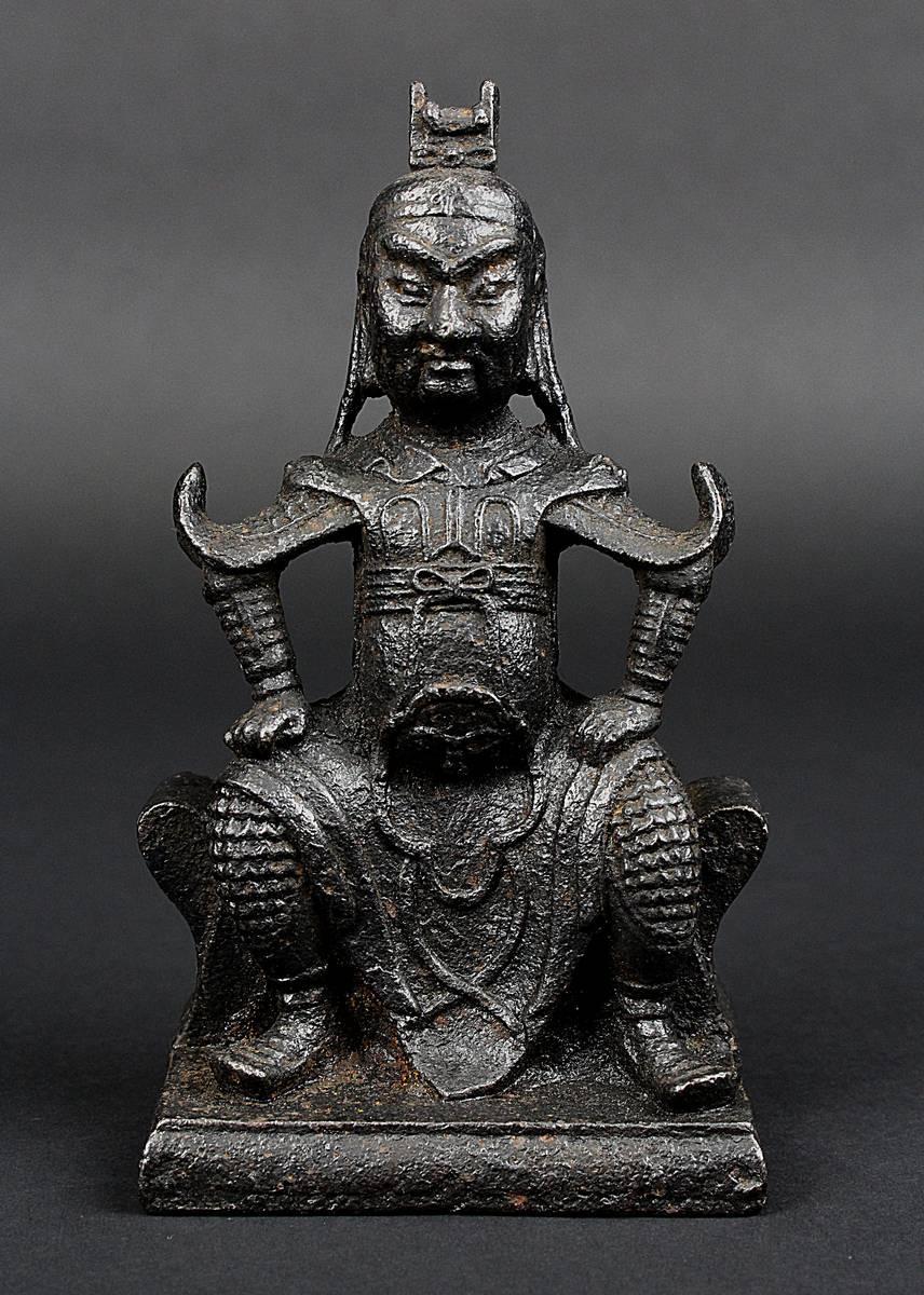 2-0017 - Kriegerfigur aus Eisen, China 18. Jh. Image