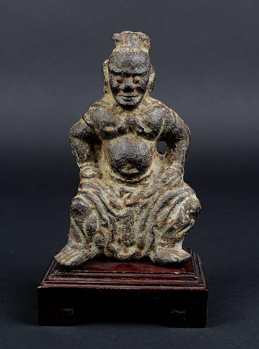 2-0018 - Wächterfigur aus Eisen, China, Ming-Zeit Image