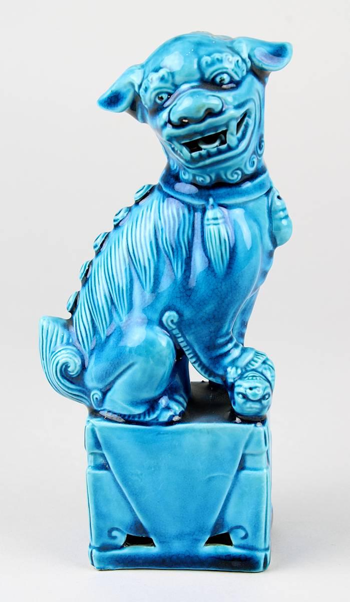 2-0025 - Kleiner Fo-Hund aus Porzellan, China 20. Jh. Image