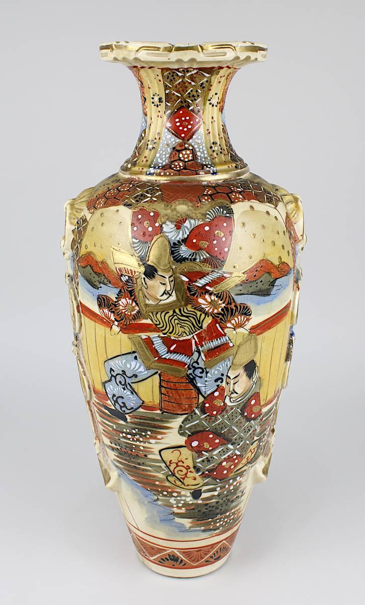 2-0040 - Satsuma - Vase Japan Mitte 20. Jh. Image