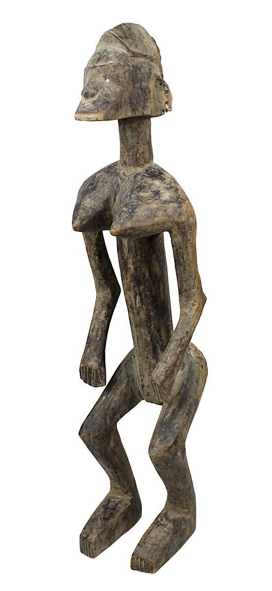 4-0001 - Weibliche Figur wohl der Bamana/Mali oder Senufo/Côte d