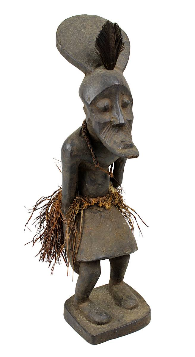 4-0010 - Kleine Figur wohl der Kete oder Mbole, D. R. Kongo Image